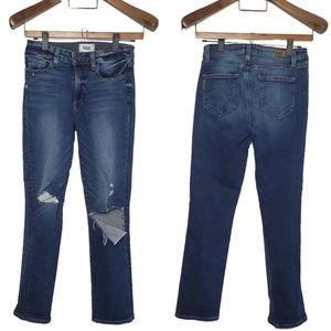 Paige Jeans - Jacqueline High Rise Straight Crop